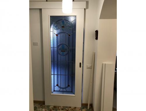 Porta interno vetro piombo